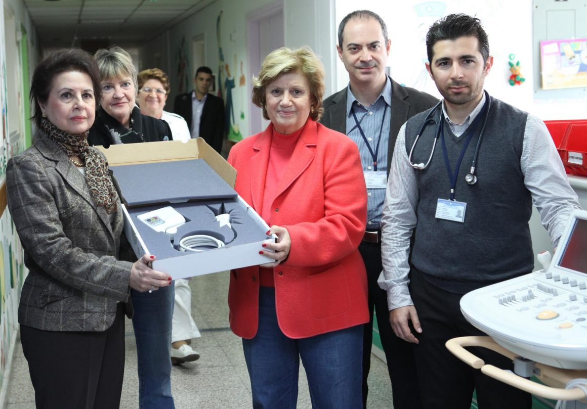 €11,500 donation to Makarios Hospital