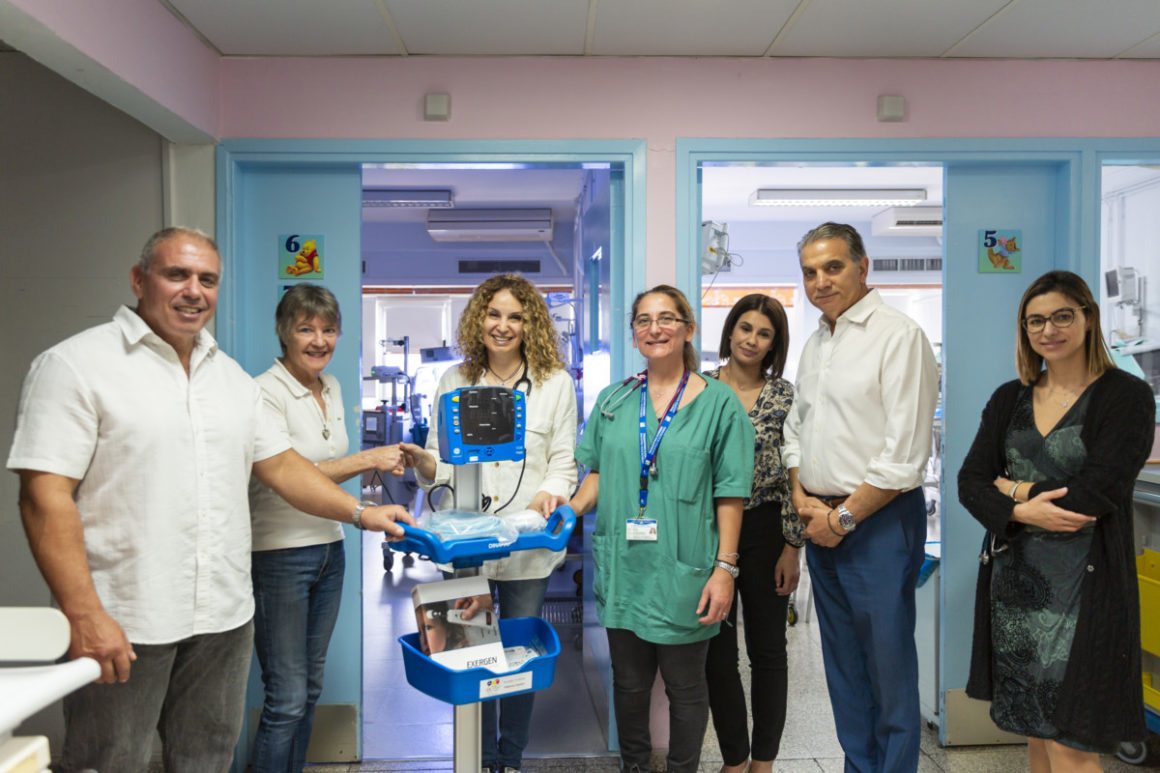 Donation to Neonatal Intensive Care Ward