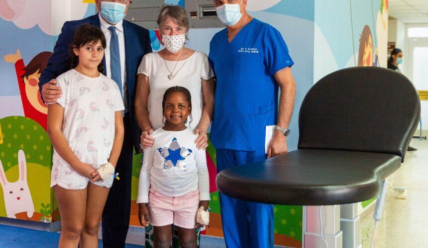 Ακόμα μία δωρεά στην Παιδιατρική Πτέρυγα του Μακάρειου Νοσοκομείου