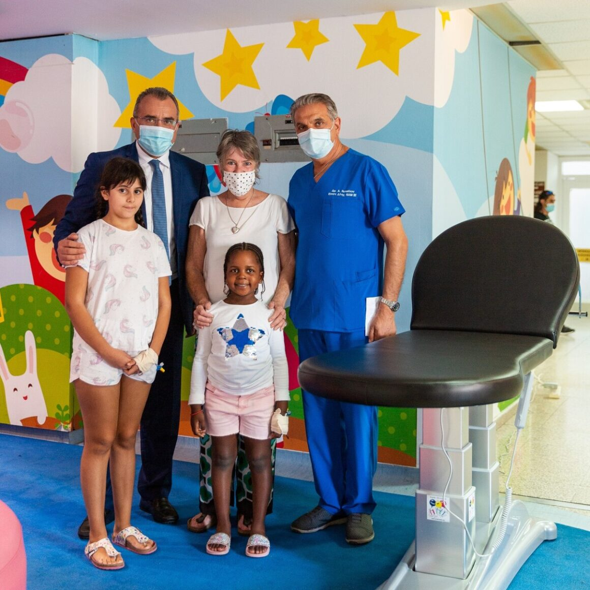 Yet another donation to Makarios Hospital's children's ward